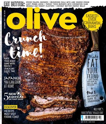 Olive Magazine issue October 2017