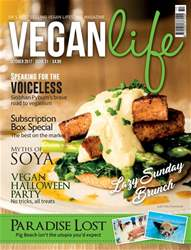 Vegan Life issue October 2017