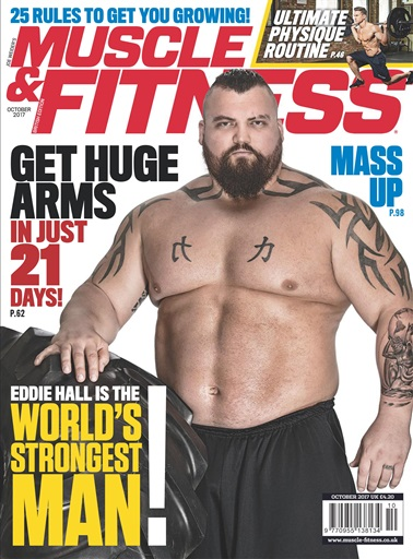 Muscle & Fitness Magazine Preview