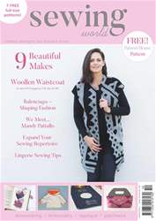 Sewing World issue October 2017