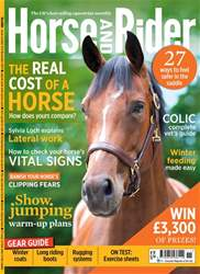 Horse&Rider Magazine – November 2017 issue Horse&Rider Magazine – November 2017