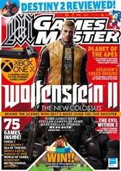 GamesMaster issue October 2017