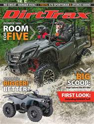 Dirt Trax Magazine issue Volume 19 Number 1