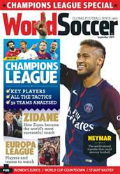 World Soccer issue September 2017