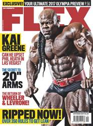 Flex Magazine issue October 2017