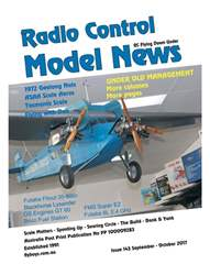 Radio Control Model News Issue 143  issue Radio Control Model News Issue 143