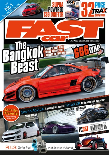 Fast Car Magazine November Subscriptions Pocketmags - Fast car tra