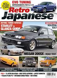 Retro Japanese Magazine Cover