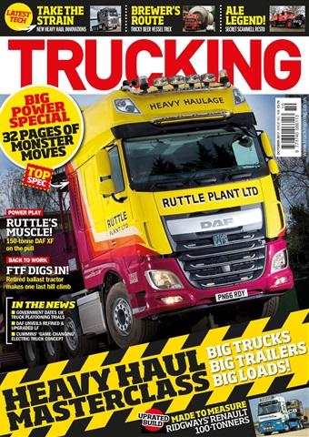 Trucking Magazine issue No. 408