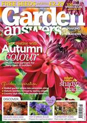 Garden Answers Magazine Cover