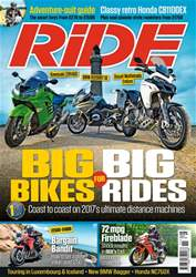 Ride issue November 2017