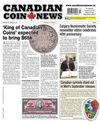 Canadian Coin News issue V55#13 - October 3