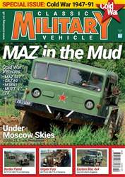 Classic Military Vehicle Magazine Cover