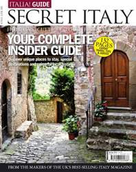 Italia Guide - Secret Italy issue Italia Guide - Secret Italy