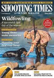 Shooting Times & Country issue 13th September 2017