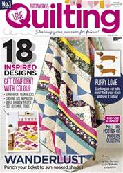 Love Patchwork & Quilting issue Issue 52