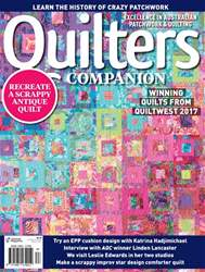 Quilters Companion issue Issue#87 2017