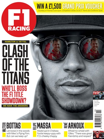 F1 Racing issue October 2017