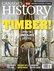 Canada's History issue Oct/Nov 2017
