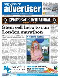 Argyllshire Advertiser issue 15th September 2017