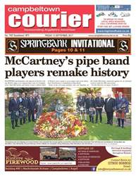 Campbeltown Courier issue 15th September 2017