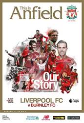 Liverpool FC Programmes issue vs Burnley 17/18