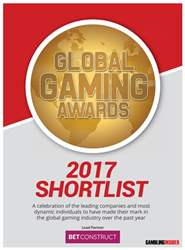Global Gaming Awards Shortlist 2017 issue Global Gaming Awards Shortlist 2017