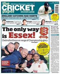 The Cricket Paper issue 15th September 2017
