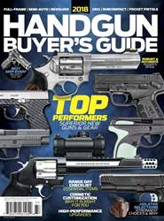 Gun World issue Buyer's Guide Holiday Winter 2017