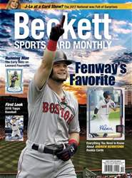 Sports Card Monthly issue October 2017