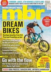 Mountain Bike Rider issue October 2017
