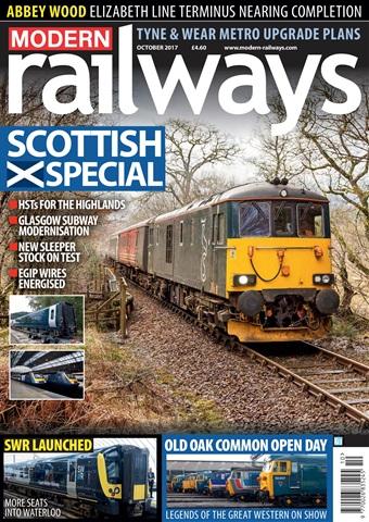 Modern Railways issue   October 2017