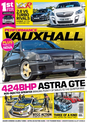 Performance Vauxhall issue October/November17