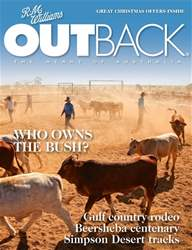 OUTBACK Magazine issue OUTBACK 115