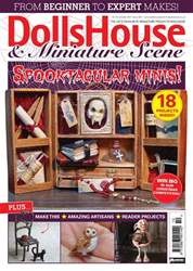 Dolls House and Miniature Scene issue October 2017 (Iss 281)