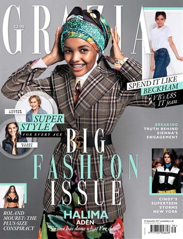 Grazia issue 25th September 2017