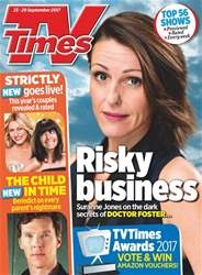 TV Times issue 23rd September 2017