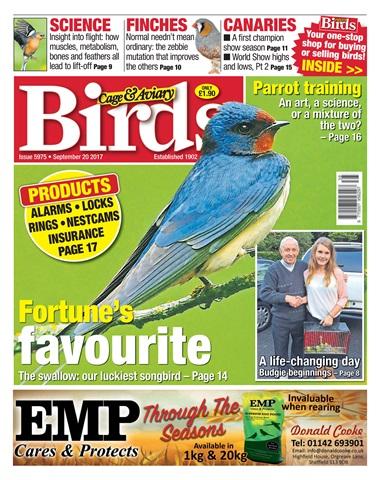 Cage & Aviary Birds issue 20 September 2017