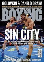 Boxing News issue 19/09/2017