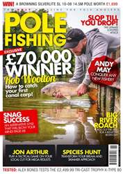 Pole Fishing issue November 2017