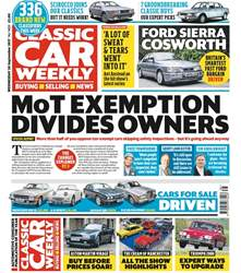 Classic Car Weekly issue 20th September 2017