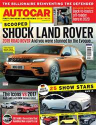 Autocar issue 20th September 2017
