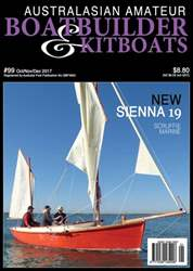 Australian Amateur Boat Builder issue Oct/Nov/Dec 2017
