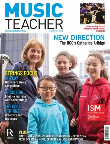 Music Teacher issue October 2017