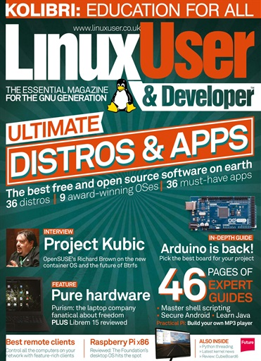Linux User and Developer Digital Issue
