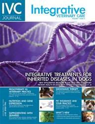 Integrative Veterinary Care issue Fall