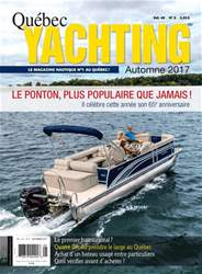 Quebec Yachting issue Automne 2017