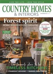 Country Homes & Interiors issue November 2017