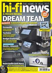 Hi-Fi News issue November 2017