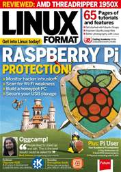Linux Format issue October 2017